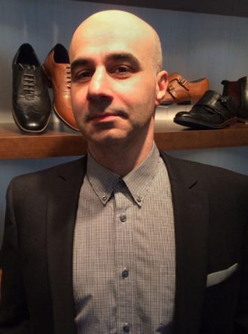Toros Dimitian, vice-président et directeur général de la marque en Amérique du Nord, Hush Puppies. (Groupe CNW/HUSH PUPPIES CANADA)