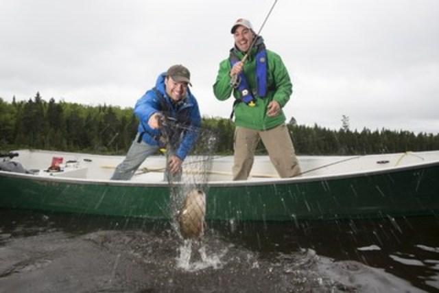 Pêche à la journée dans la réserve faunique de Mastigouche (Groupe CNW/Société des établissements de plein air du Québec)