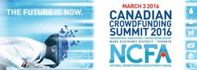The National Crowdfunding Association of Canada (NCFA Canada) today announced the 2nd Annual 2016 Canadian Crowdfunding Summit (CCS2016) is to be held on Thursday, March 3, 2016 (CNW Group/National Crowdfunding Association of Canada (NCFA Canada))