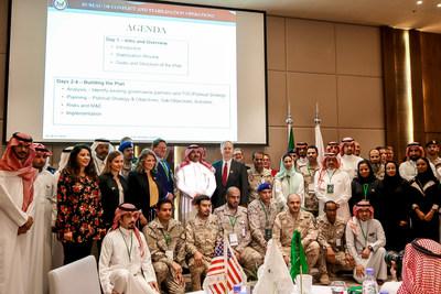 الجابر: تدريب 60 شابا سعوديا على اكتشاب قدرات تحقيق الاستقرار وإدارة النزاعات