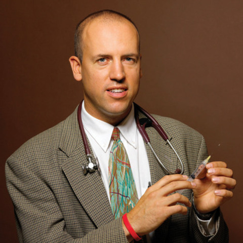 Dr. Michael Hill, Heart and Stroke Foundation and Canadian Stroke Network spokeperson (CNW Group/HEART AND ...