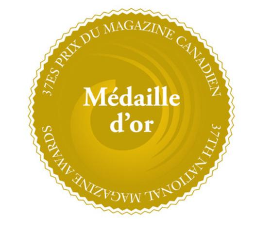 Retrouvez des magazines canadiens primés chez votre libraire Chapters (Groupe CNW/Fondation nationale des prix du magazine canadien)
