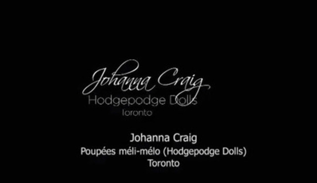 Video: Johanna Craig, Poupées méli-mélo