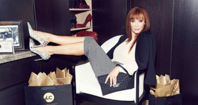 Lauren Holly in Le Château Fall Winter 2014 Collection (CNW Group/Le Château)