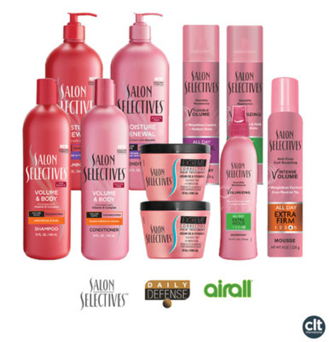 CLT International Announces Acquisition of Additional Rights to Salon Selectives Beauty & Personal Care Trademark (CNW Group/CLT International)
