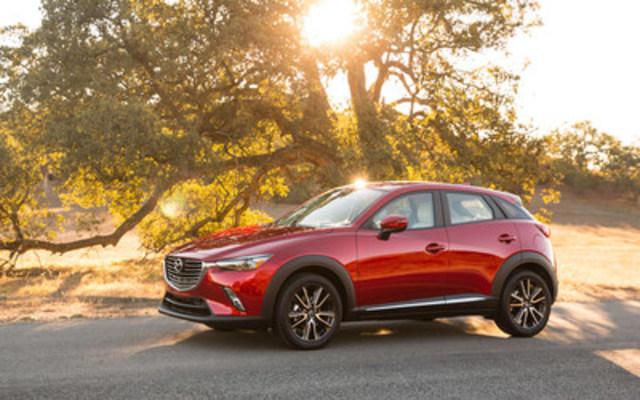 2016 Mazda CX-3 - AJAC's Best New SUV / CUV (under $35,000) (CNW Group/Mazda Canada Inc.)