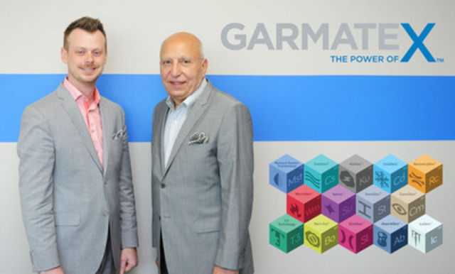 Alex McAulay, Chief Financial and Operations Officer and Bill Gardiner, Executive VP of Sales and Marketing (CNW Group/Garmatex Technologies, Inc)