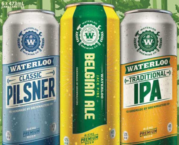 Waterloo Summer Small Batch Brews (CNW Group/Brick Brewing Co. Limited)