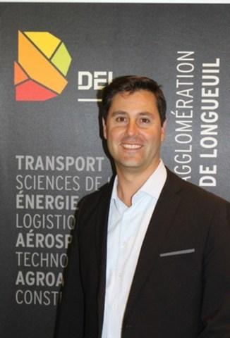 M. Benoit Balmana, directeur du technopôle des transports intelligents et durables de Développement économique de l'agglomération de Longueuil (DEL) (Groupe CNW/Del)