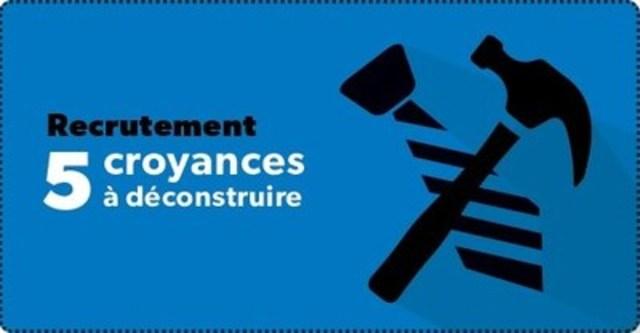 L'Ordre des conseillers en ressources humaines agréés fait la lumière sur 5 mythes en matière de recrutement. (Groupe CNW/Ordre des conseillers en ressources humaines agréés)
