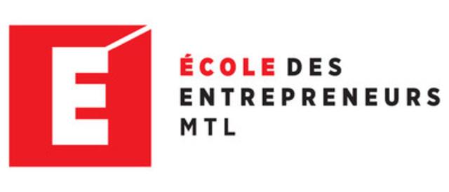 Logo: l'École des entrepreneurs   MTL (Groupe CNW/SAJE accompagnateur d'entrepreneurs)