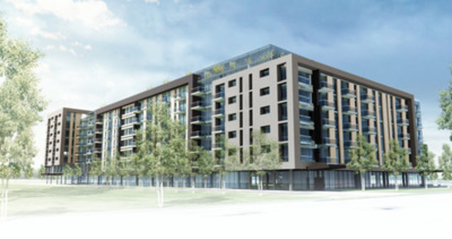 Chartwell announces development of a new residence in Saint-Hubert, Longueuil (CNW Group/Chartwell Retirement Residences)
