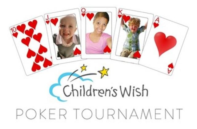 Children's Wish Poker (CNW Group/The Children's Wish Foundation of Canada)
