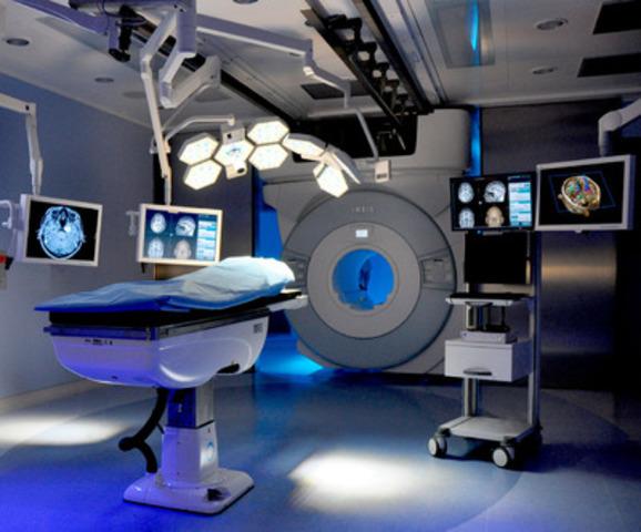 IMRIS VISIUS® Surgical Theatre at University Hospital Tübingen (CNW Group/IMRIS Inc.)