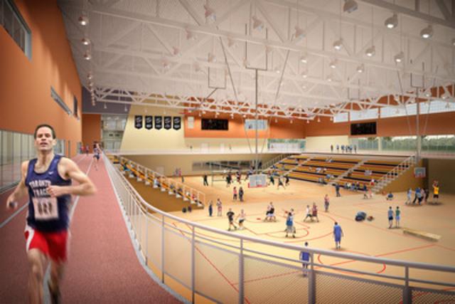 Le Centre aquatique et complexe sportif (Groupe CNW/Jeux pan/parapanaméricains de Toronto 2015)