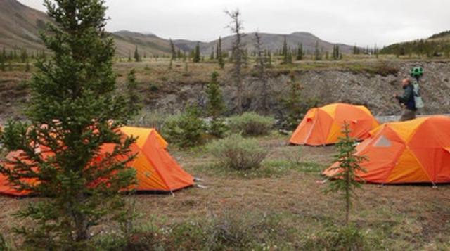 Des membres de l'équipe de Parcs Canada recueilleront des images du Nord et de lieux éloignés pour le projet Street View.