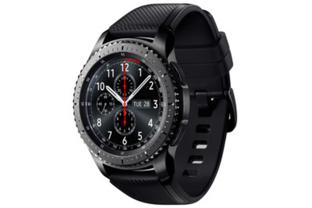Samsung Gear S3 Frontier (Groupe CNW/Samsung Electronics Canada)
