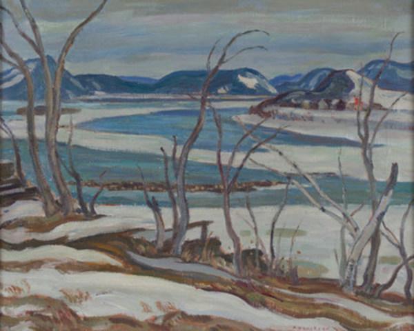 Oeuvre d'A.Y. Jackson en vente aux enchère du 2 decembre 2015 A.Y. (Groupe CNW/Galerie Cosner)