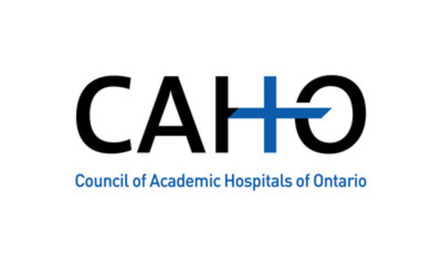 Council of Academic Hospitals of Ontario (CNW Group/Health Quality Ontario)