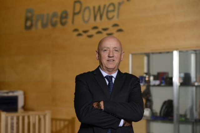 Duncan Hawthorne, Bruce Power's President and CEO. (CNW Group/Bruce Power)