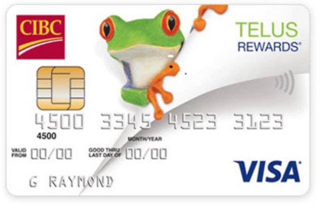 CIBC TELUS Rewards® Visa* card (CNW Group/CIBC)