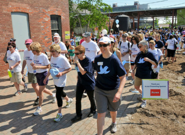 Succès retentissant de la troisième édition annuelle de la Marche contre la douleur (Groupe CNW/Société d'Arthrite)