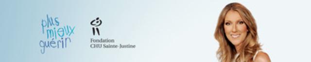 Chantez pour Sainte-Justine avec Céline Dion. (Groupe CNW/Fondation CHU Sainte-Justine)