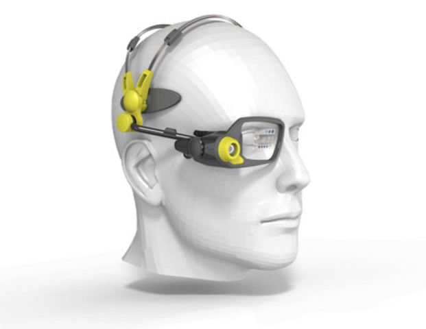 Vuzix Monocular Smart Glasses for Industrial Augmented Reality. (CNW Group/Vuzix Corporation)
