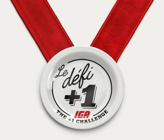 IGA launches the + 1 Challenge encouraging Quebecers to cook one more meal each week (CNW Group/IGA)