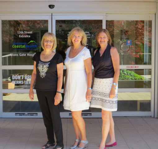 Left to right: Judy Battista, Patient and Family Advisor; Valerie MacDonald, Clinical Nurse Specialist, ...