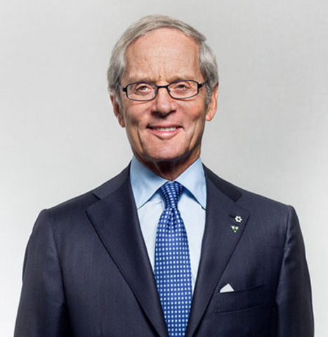 Lawrence Bloomberg, distinguished philanthropist and accomplished Canadian business leader, has been named Ryerson University's fourth chancellor. He will begin his three-year term on Oct. 19, succeeding G. Raymond Chang. (CNW Group/Ryerson University)