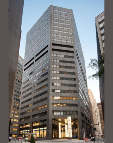 La propriété du 100 William Street est un immeuble de bureaux de premier ordre de 21 étages, d'une superficie de 422 000 pieds carrés, situé au cœur du quartier financier de New York. (Groupe CNW/Société Financière Manuvie)