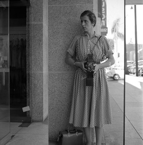 Every ticket includes a complementary print by a notable photographer; see details for VIP bid registration on this EXCLUSIVE 1/1 Vivian Maier self-portrait. (CNW Group/Elevator Digital)