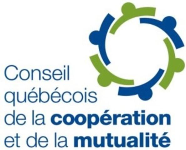 Logo : Conseil québécois de la coopération et de la mutualité (CQCM) (Groupe CNW/Conseil québécois de la coopération et de la mutualité)