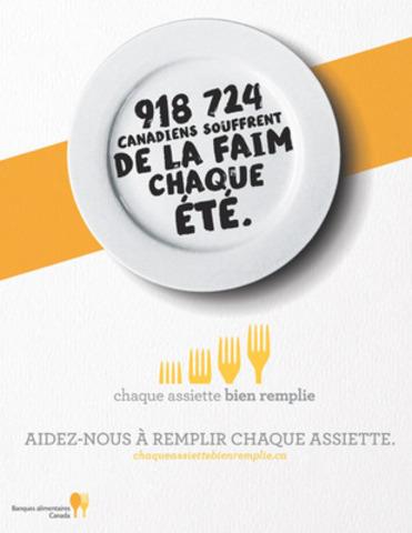 Chaque assiette bien remplie : nouvelle collecte nationale de nourriture et de fonds (Groupe CNW/Banques alimentaires Canada)