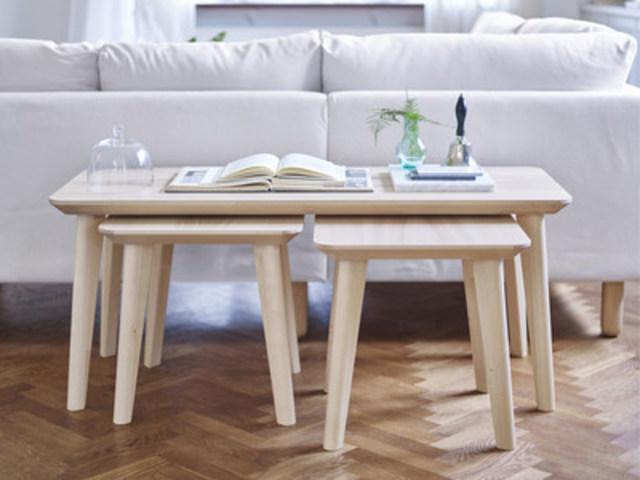 La collection de tables LISABO de IKEA, lauréate du Red Dot Award 2016. Déjà vendue dans tous nos magasins. (Groupe CNW/IKEA Canada)