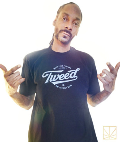 Snoop Dogg Partners with Tweed- Canada's Largest Marijuana Producer (CNW Group/Canopy Growth Corporation)