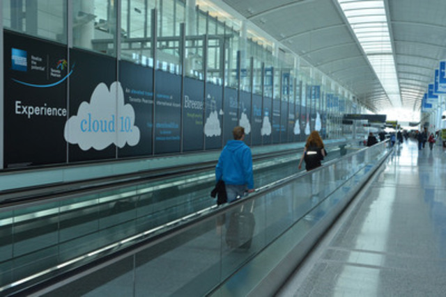 Travellers flying through Toronto Pearson International Airport will soon be able to download free eBooks and ...