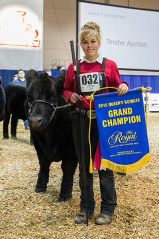 Sylvia Megens and Last Chance (CNW Group/Royal Agricultural Winter Fair)