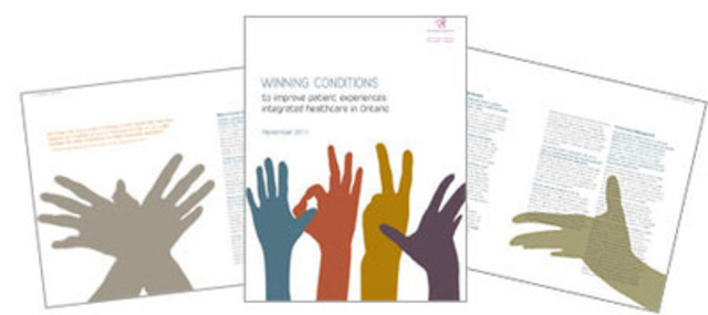 Winning Conditions to improve patient experience (CNW Group/The Change Foundation)