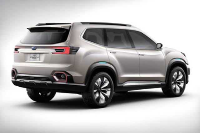 Subaru VIZIV-7 SUV Concept (CNW Group/Subaru Canada Inc.)