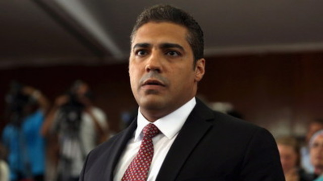 Mohamed Fahmy, the Canadian journalist recently released from a Cairo prison, will speak in Toronto on November 2 at an event presented by The Canadian Journalism Foundation in partnership with the Toronto Public Library. (CNW Group/Canadian Journalism Foundation)