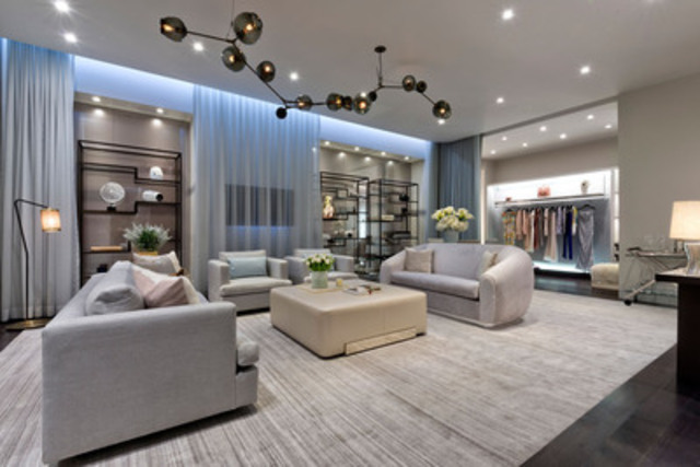 Holt Renfrew's luxury Apartment private shopping concept (CNW Group/Holt Renfrew)