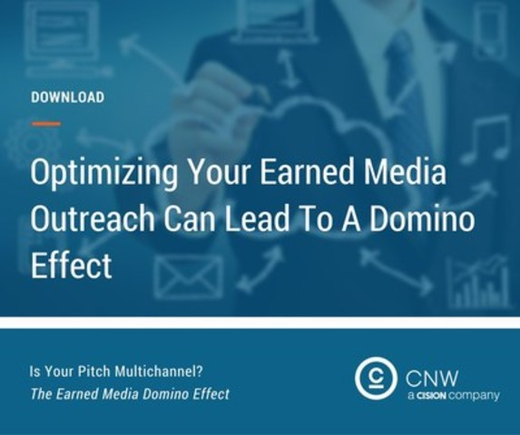 The Earned Media Domino Effect (CNW Group/CNW Group Ltd.)