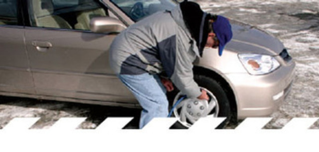 Check tire pressure at least once a month. (CNW Group/Transport Canada)