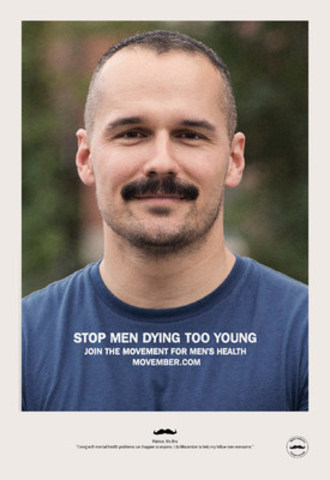 Patrice Lavoie (CNW Group/Movember Canada)