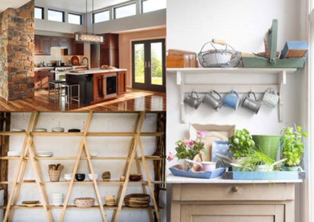 Award-winning Designer Janette Ewen shares the top ten ways to refresh your kitchen and bathroom in 2016 (CNW Group/Delta)
