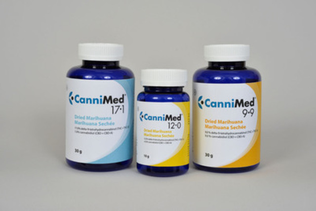 CanniMed Product Photo (CNW Group/Prairie Plant Systems Inc.)