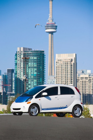 L'i-MiEV canadien. (Groupe CNW/Mitsubishi Motor Sales of Canada, Inc.)