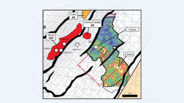 Figure 1: Ioana Prospect Map (CNW Group/Sterling Resources Ltd.)